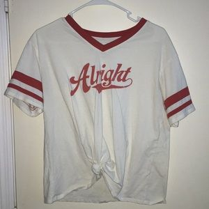 """Alright"" shirt"